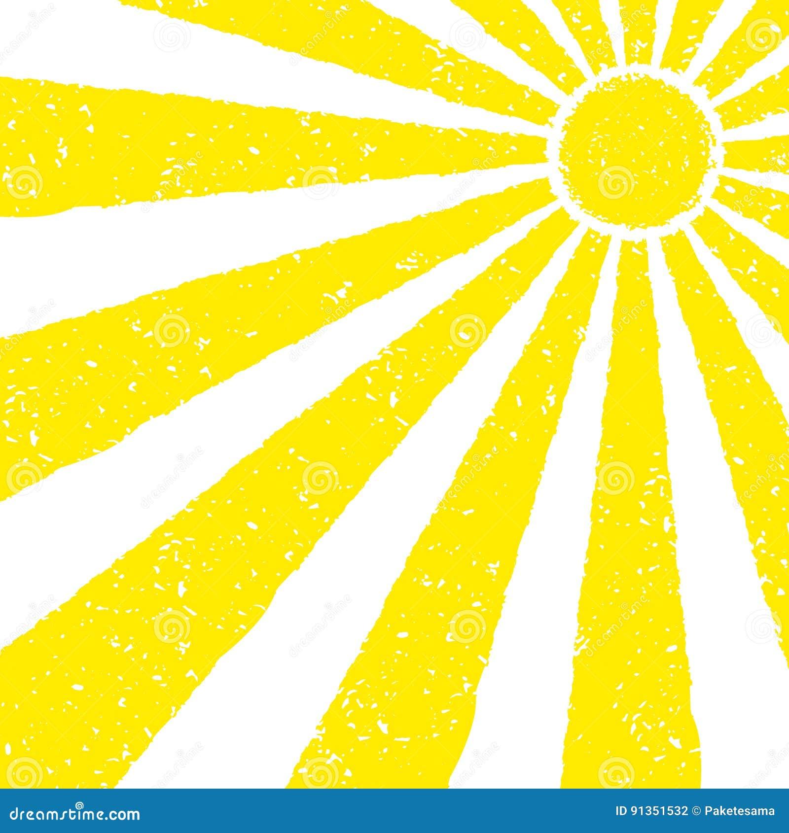 yellow sun background stock vector illustration of season 91351532