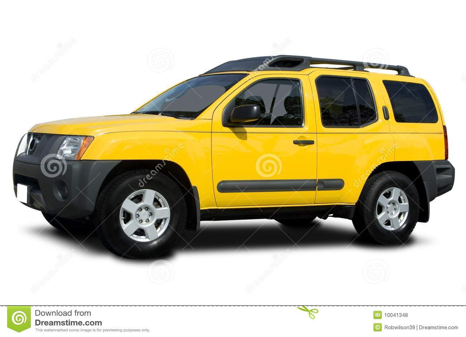 Yellow Suv Royalty Free Stock Photos Image