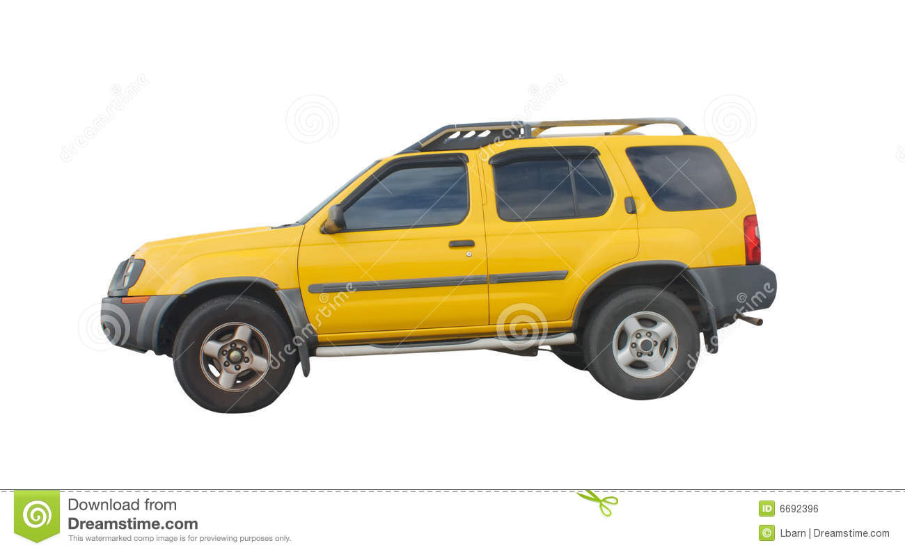 Yellow Suv Royalty Free Stock Image Image