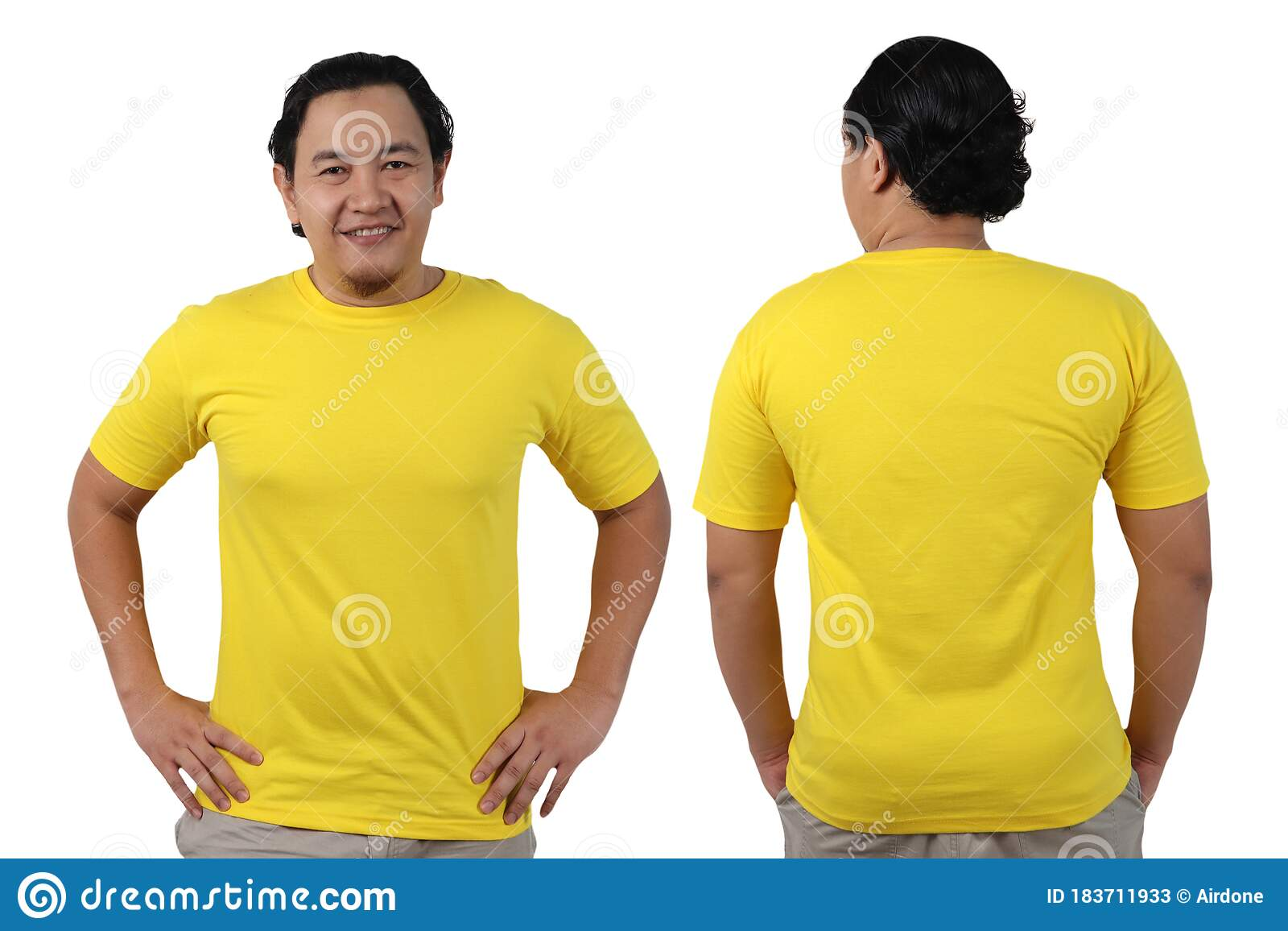 Download 188 Tshirt Front Back Yellow Photos Free Royalty Free Stock Photos From Dreamstime Yellowimages Mockups