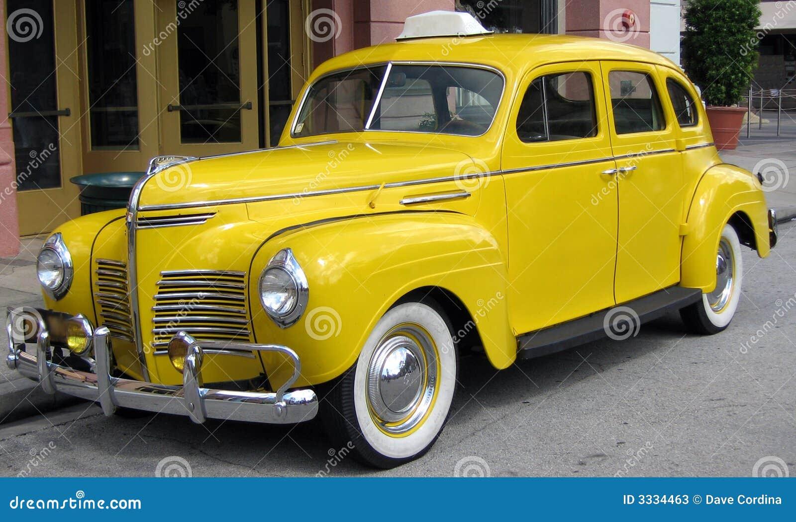 Yellow Taxi Stock Photos  Image 3334463