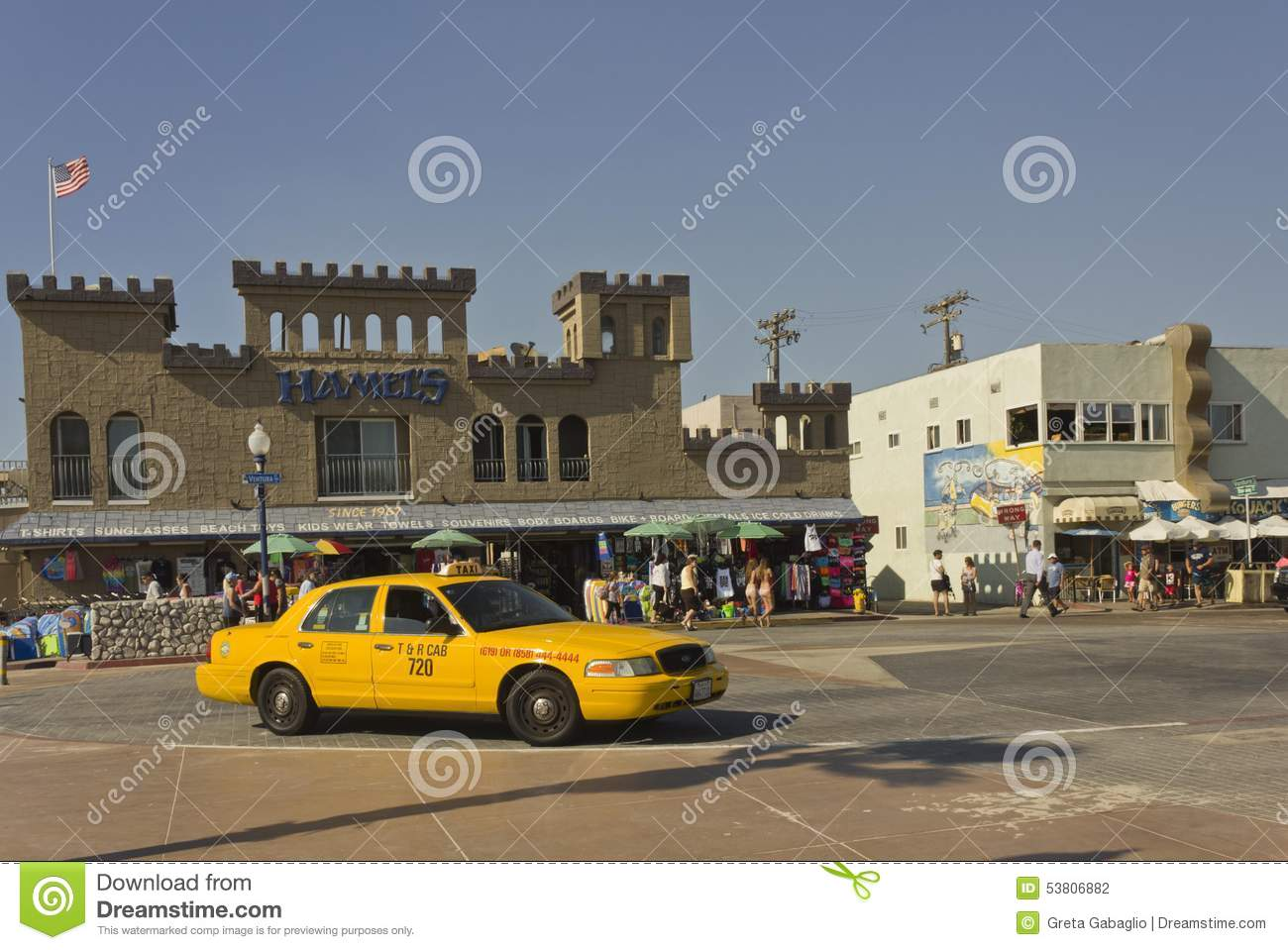 Cab San Diego >> Yellow Taxi In San Diego Editorial Photography Image Of