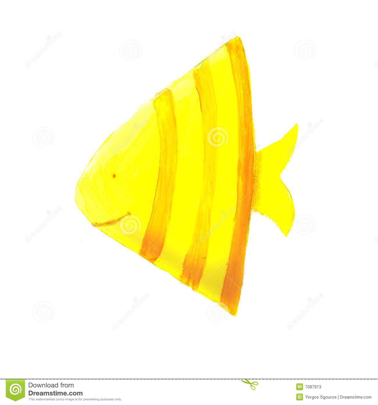 yellow triangle fish stock illustration image of family sea creatures clip art images sea creature clipart black and white