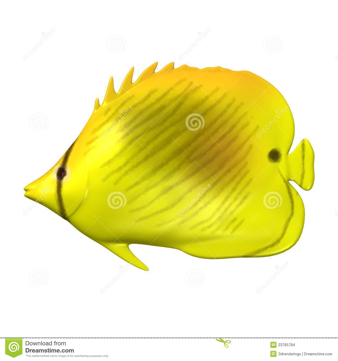 Yellow tropical fish stock images image 23765784 for Yellow tropical fish