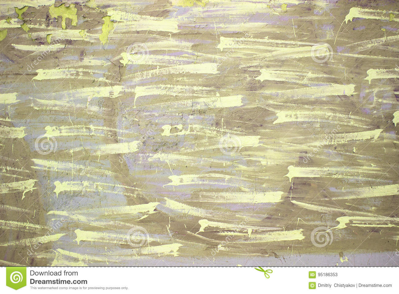 Yellow Urban Wall, Color Cement Or Concrete Texture Stock Image ...