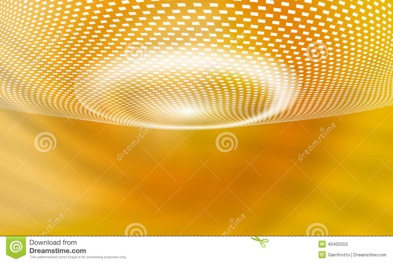 Yellow vector abstract background