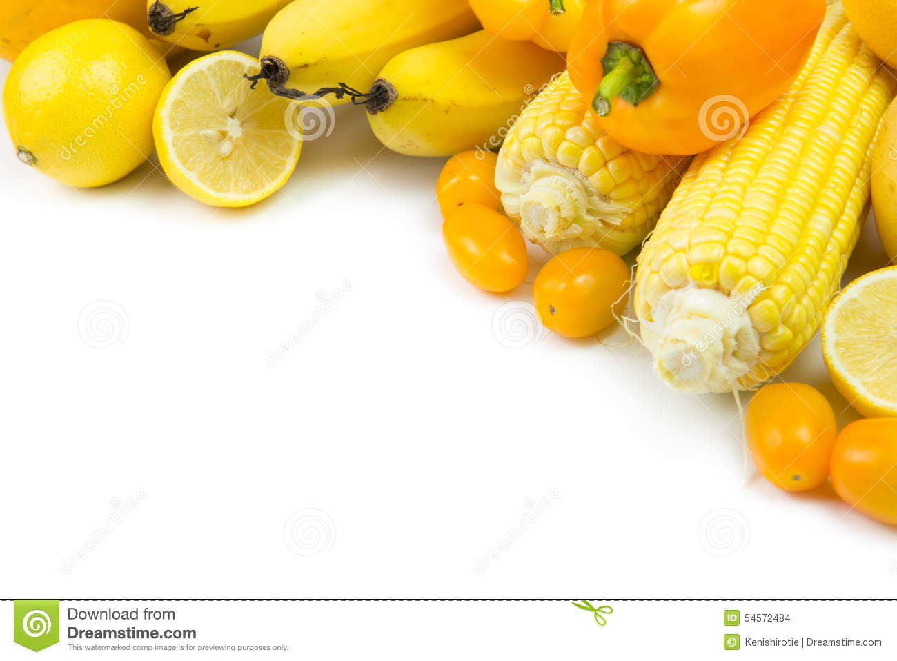 Yellow Vegetabl... Yellow Vegetables And Fruits