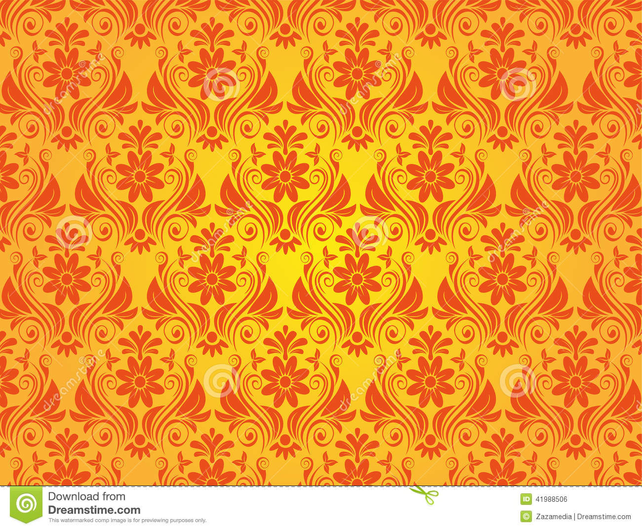 yellow vintage style background stock vector image 41988506