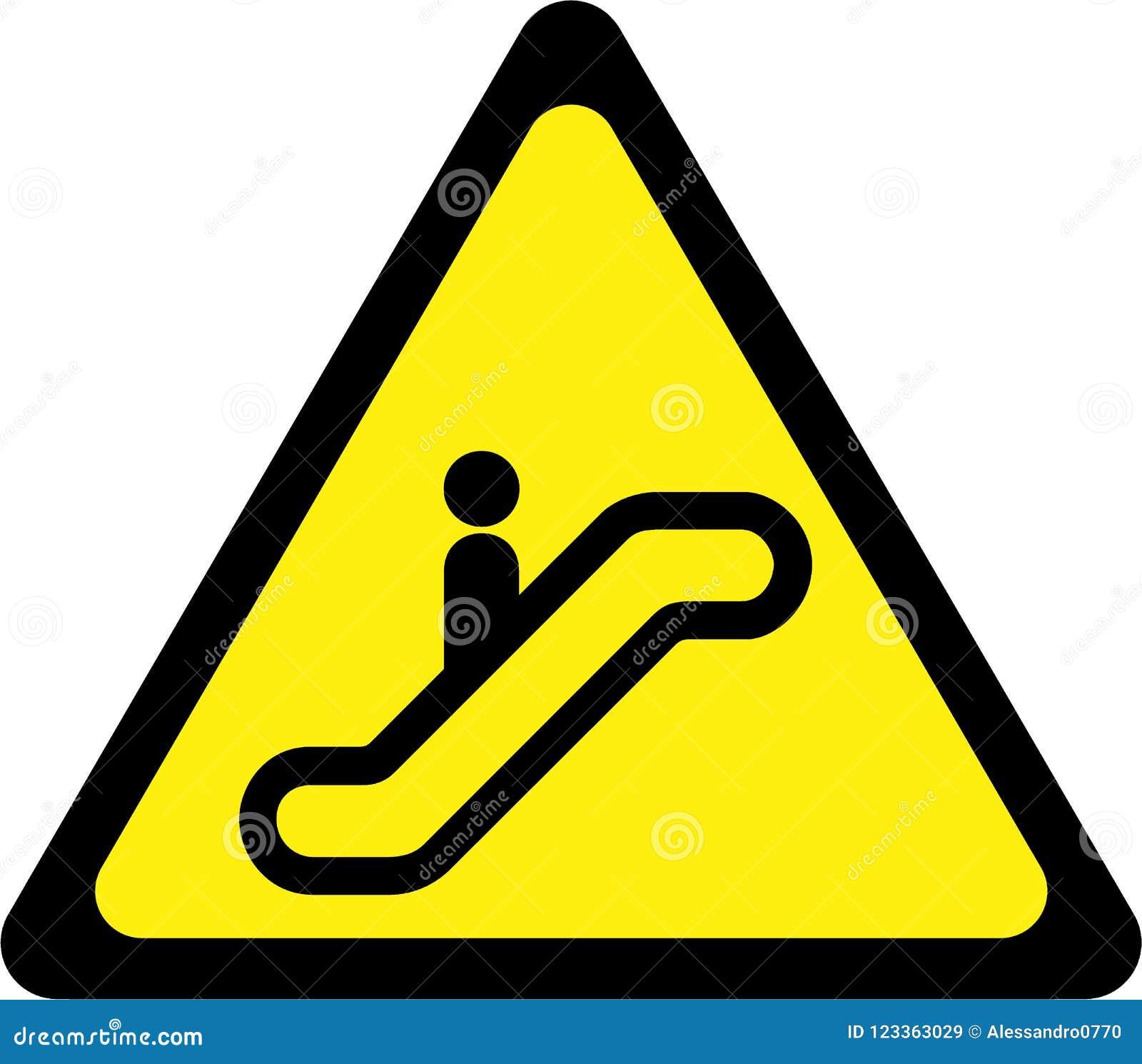 edge yellow caution sign - HD1300×1228