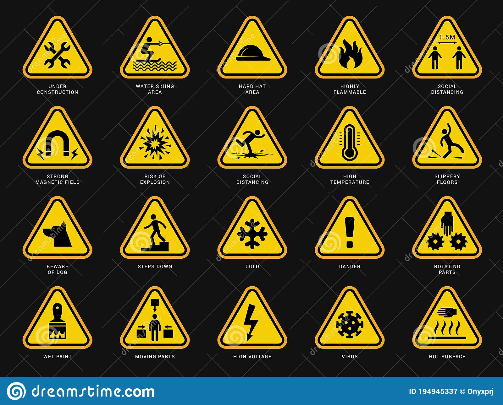 Electrical Warning Signs Stock Illustrations – 10 Electrical ...
