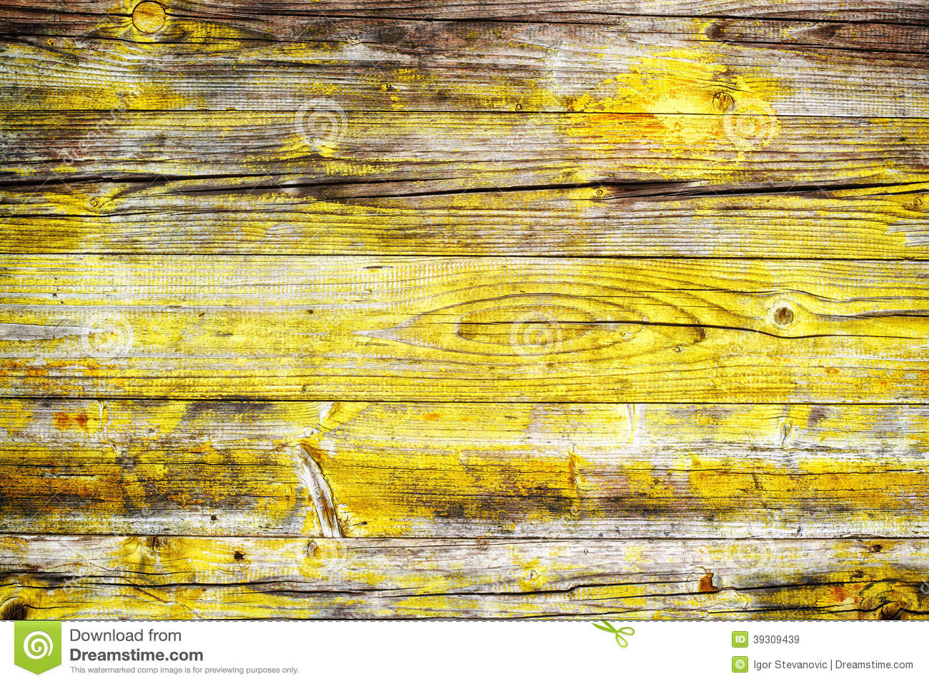 Yellow Wood Background Stock Photo Image 39309439