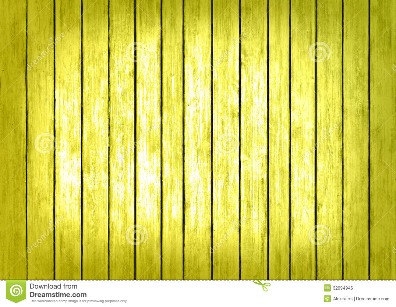 Yellow Wood Panels Texture Surface Background Royalty Free