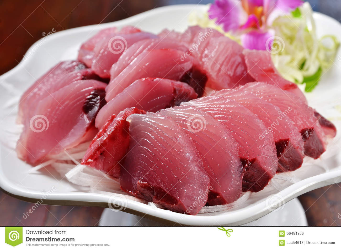 Yellowtail Sashimi On Rice Recipe — Dishmaps