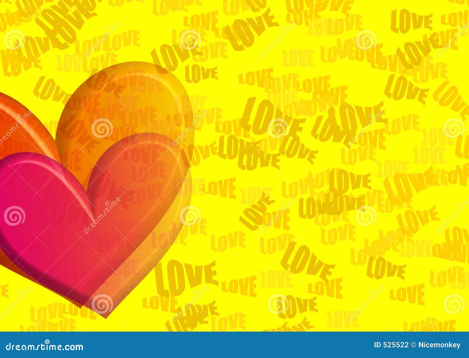 Yelo do coração do amor