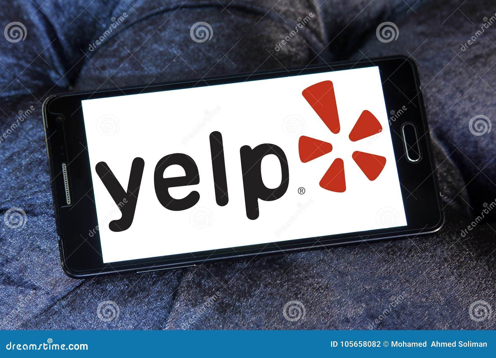 Yelp company logo editorial photography  Image of icon