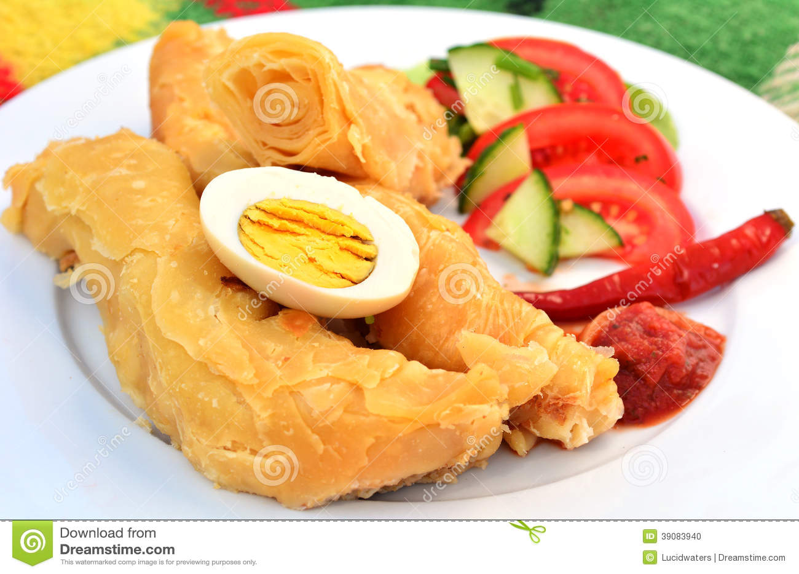 Yemeni Food - Jachnun stock photo  Image of meal, breakfast