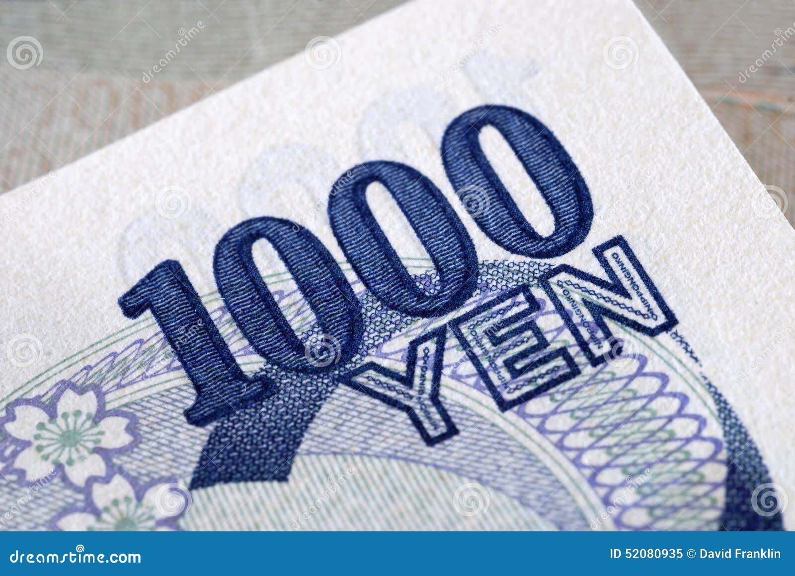 Yen 1000 detail