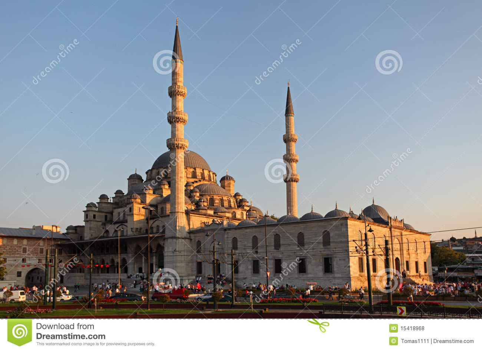 Yeni Camii, Istanboel - Turkije