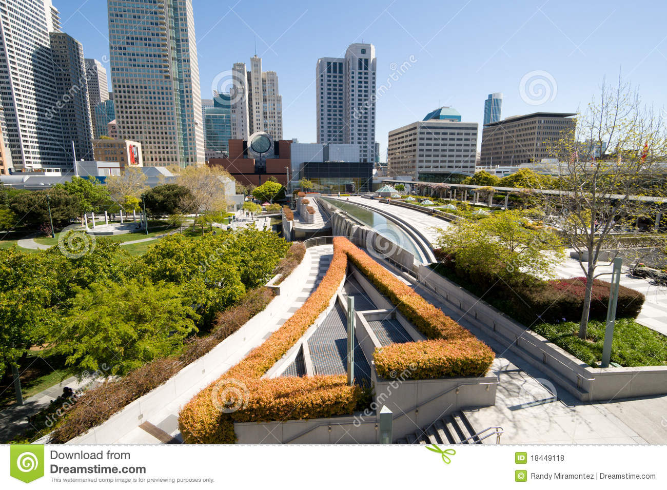 Yerba Buena Gardens Royalty Free Stock Photos Image