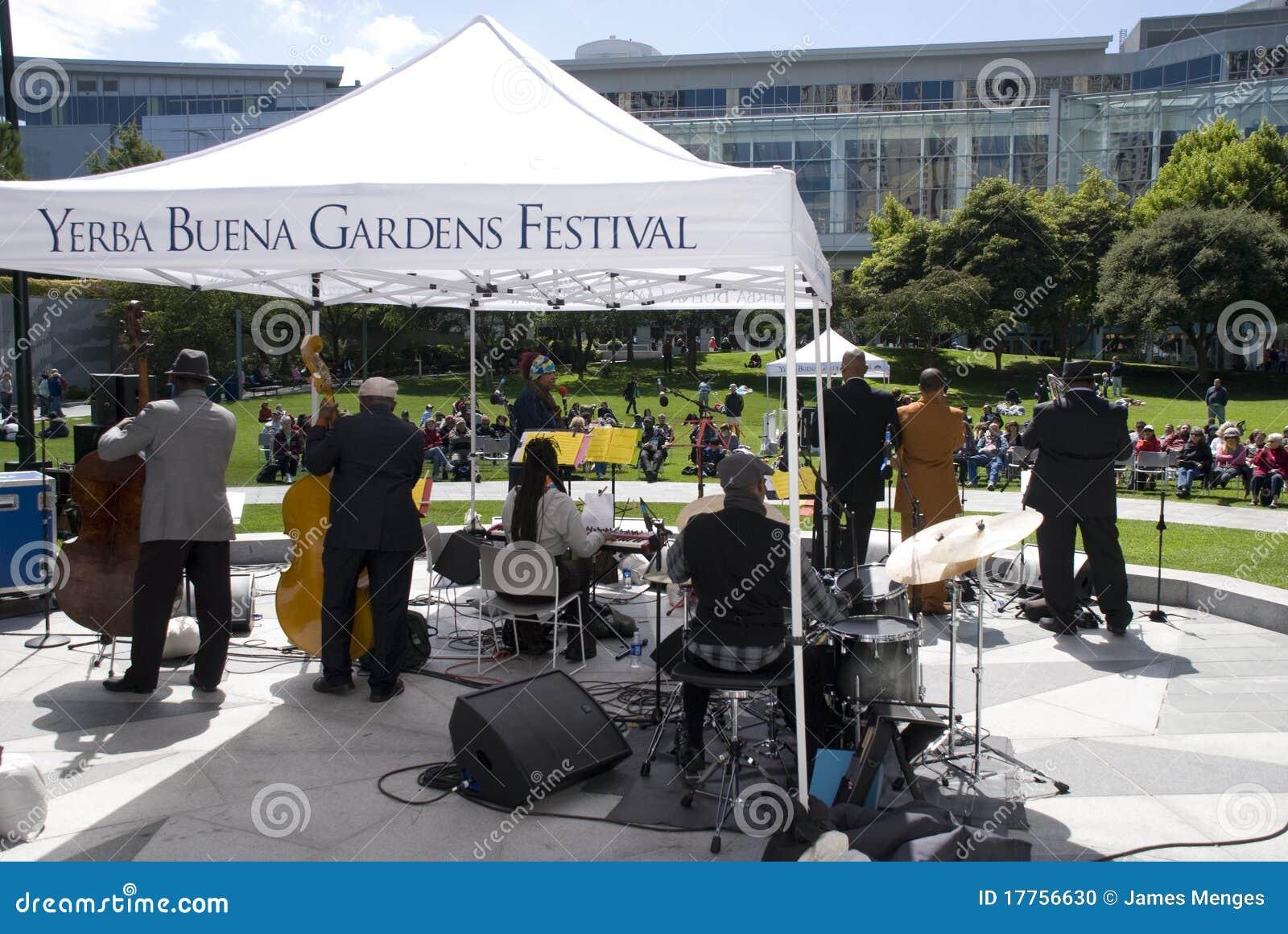 Yerba Buena Gardens Festival Editorial Image Image 17756630