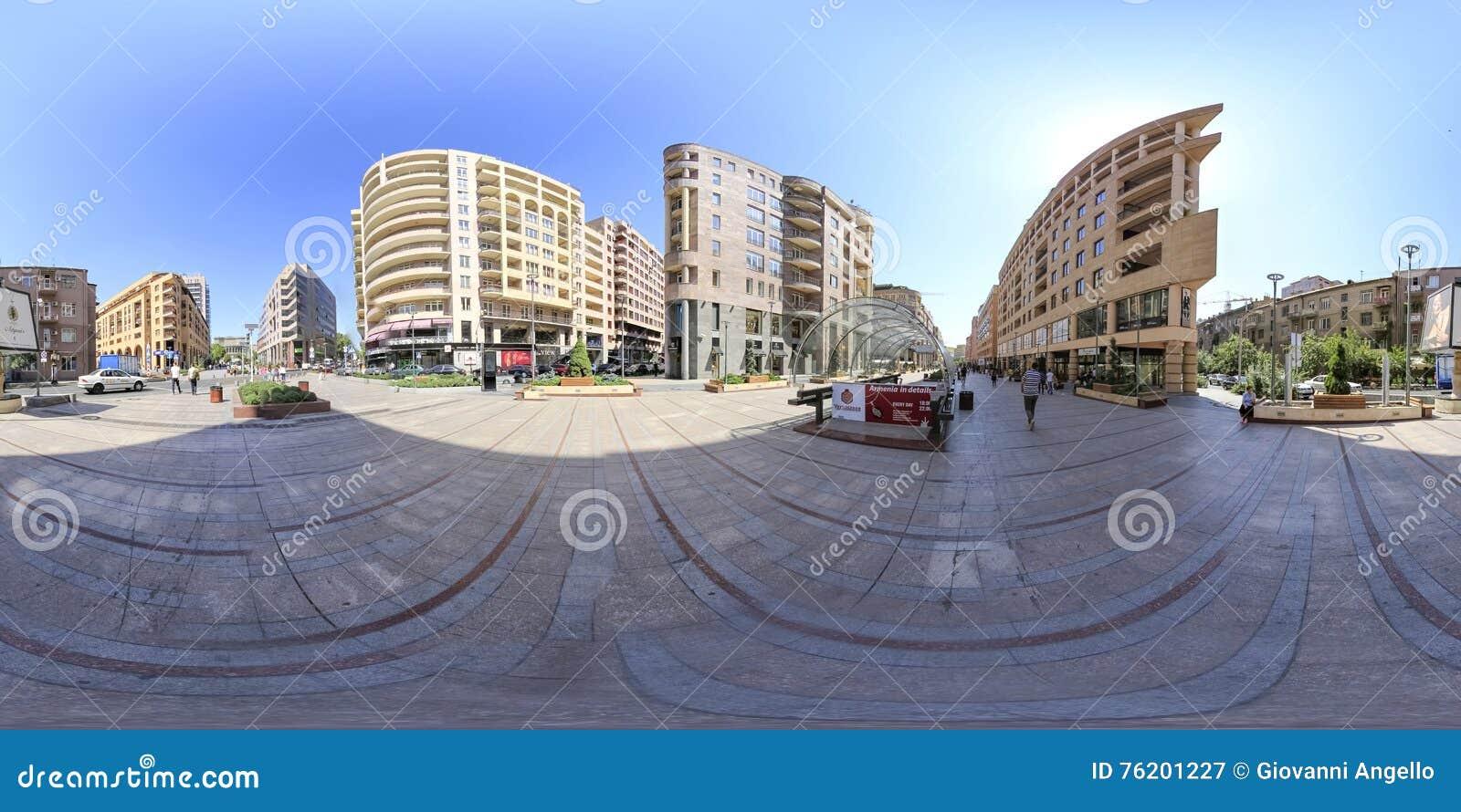 Yerevan 360 Degree Virtual Reality Photo Editorial Photography