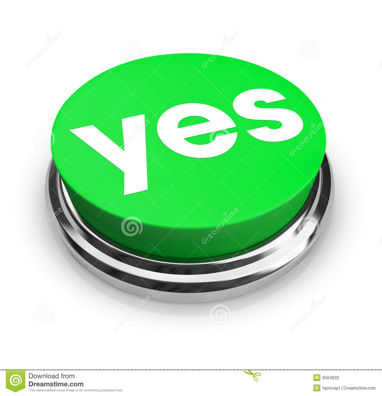 Yes  Green Button Clipart  k1998770  Fotosearch
