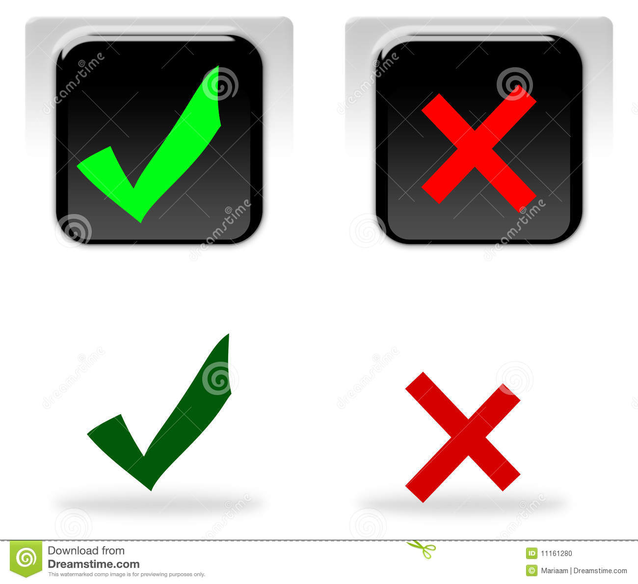 No stock illustrations 92309 no stock illustrations vectors yes and no icons yes and no symbols concept making decisions choice buycottarizona Gallery