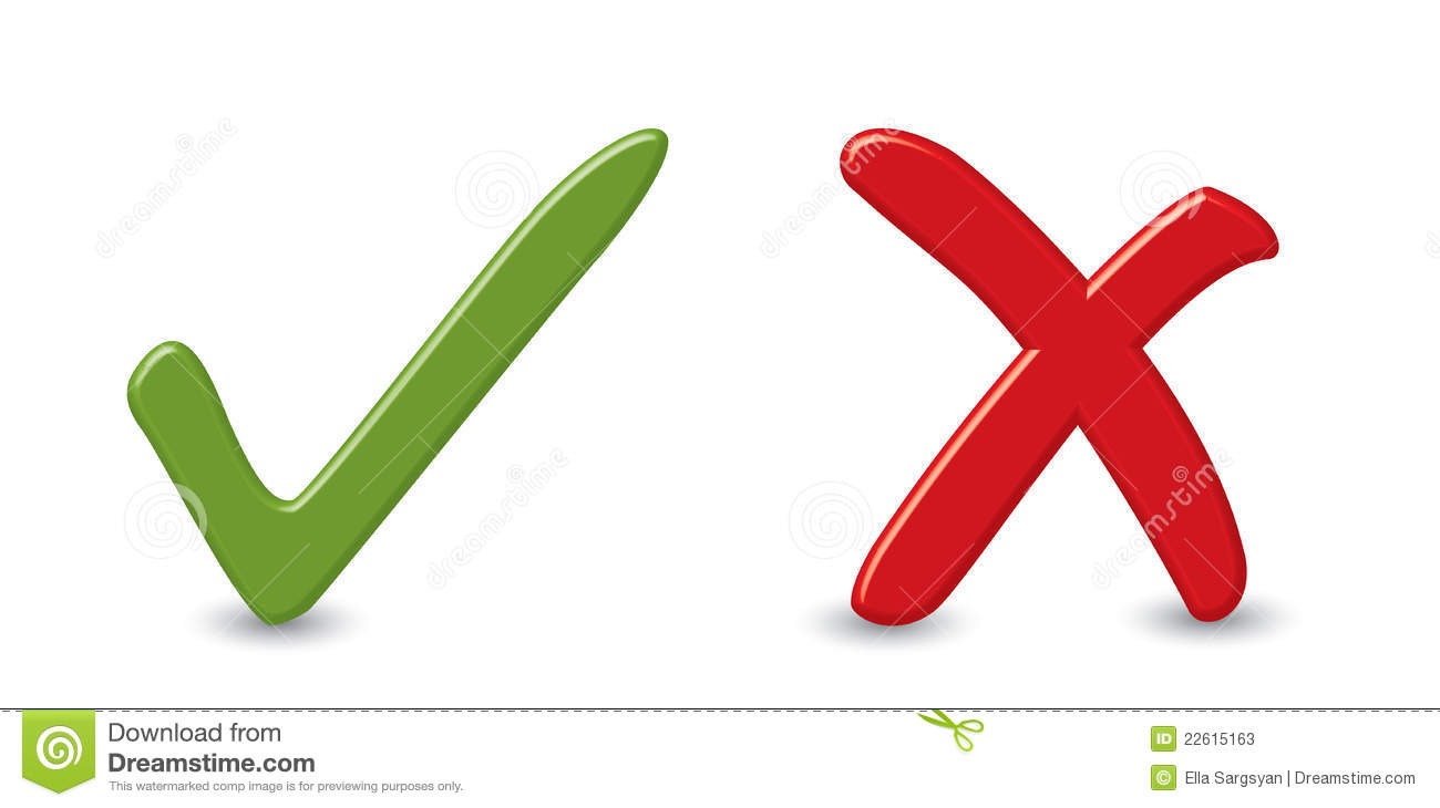 Yes and no signs stock vector. Illustration of choose ...