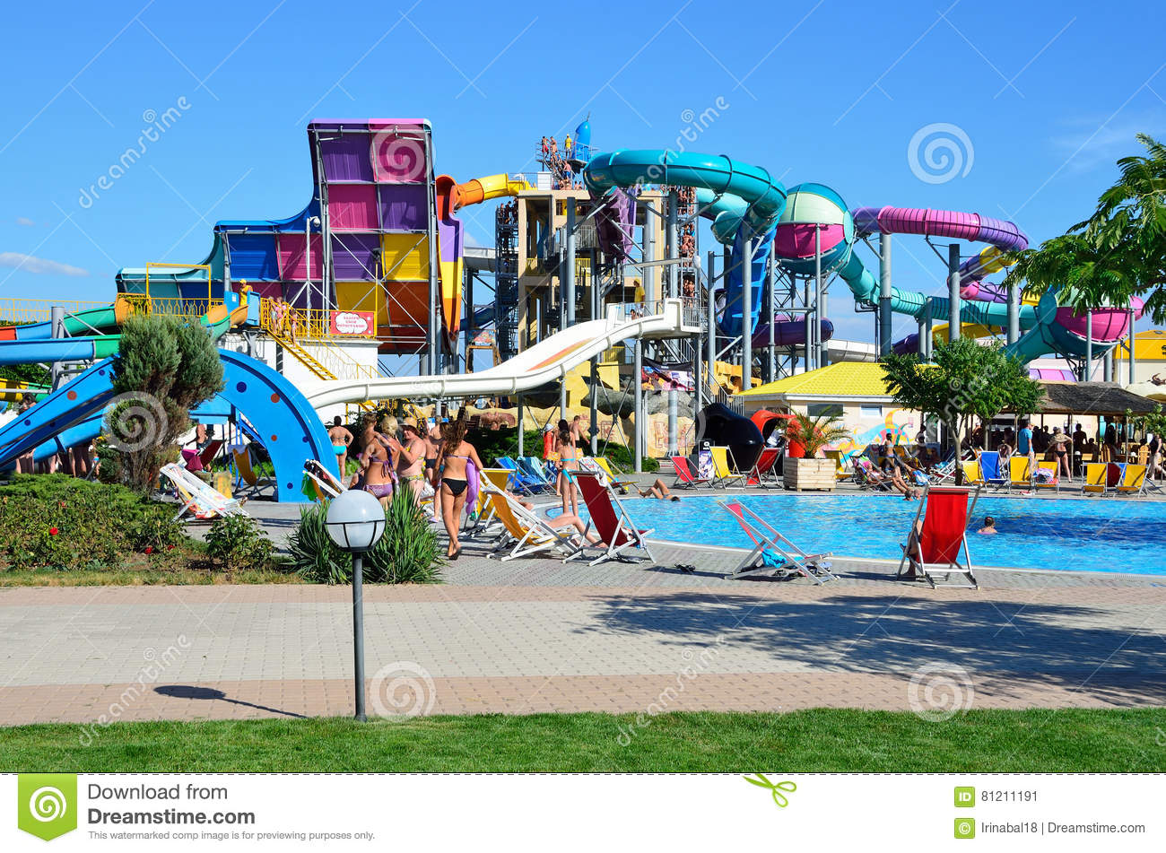 The best water park in Crimea where What are its advantages
