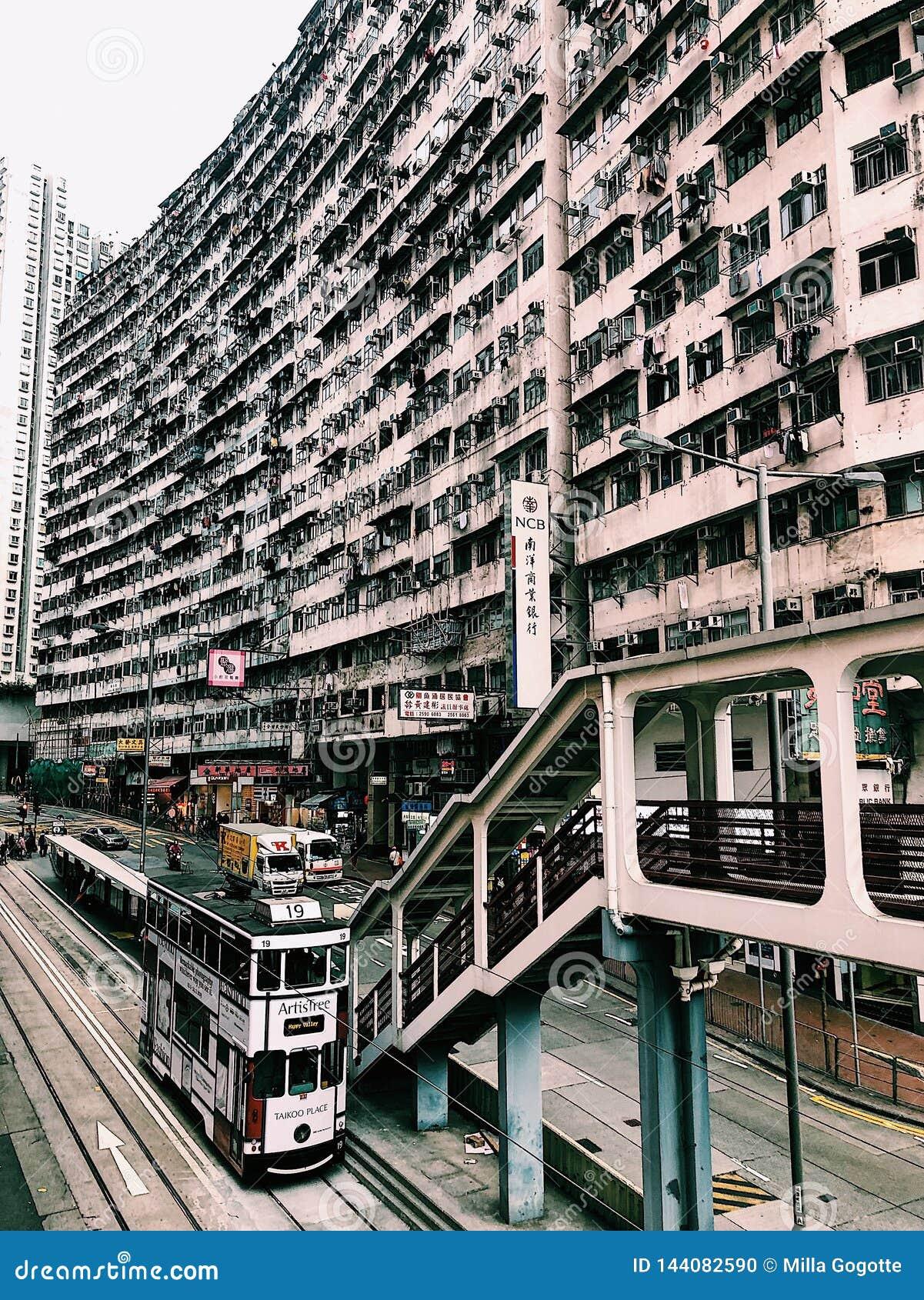 Yick Cheong Building, Steinbruch-Bucht, Hong Kong