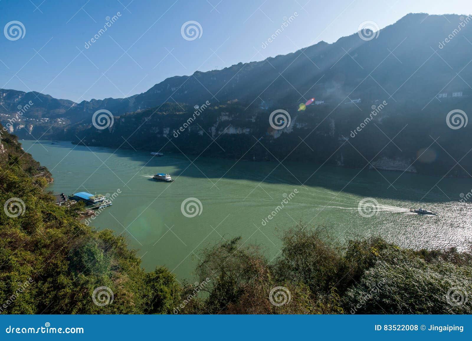 Yiling Yangtze River Three Gorges Dengying Gorge