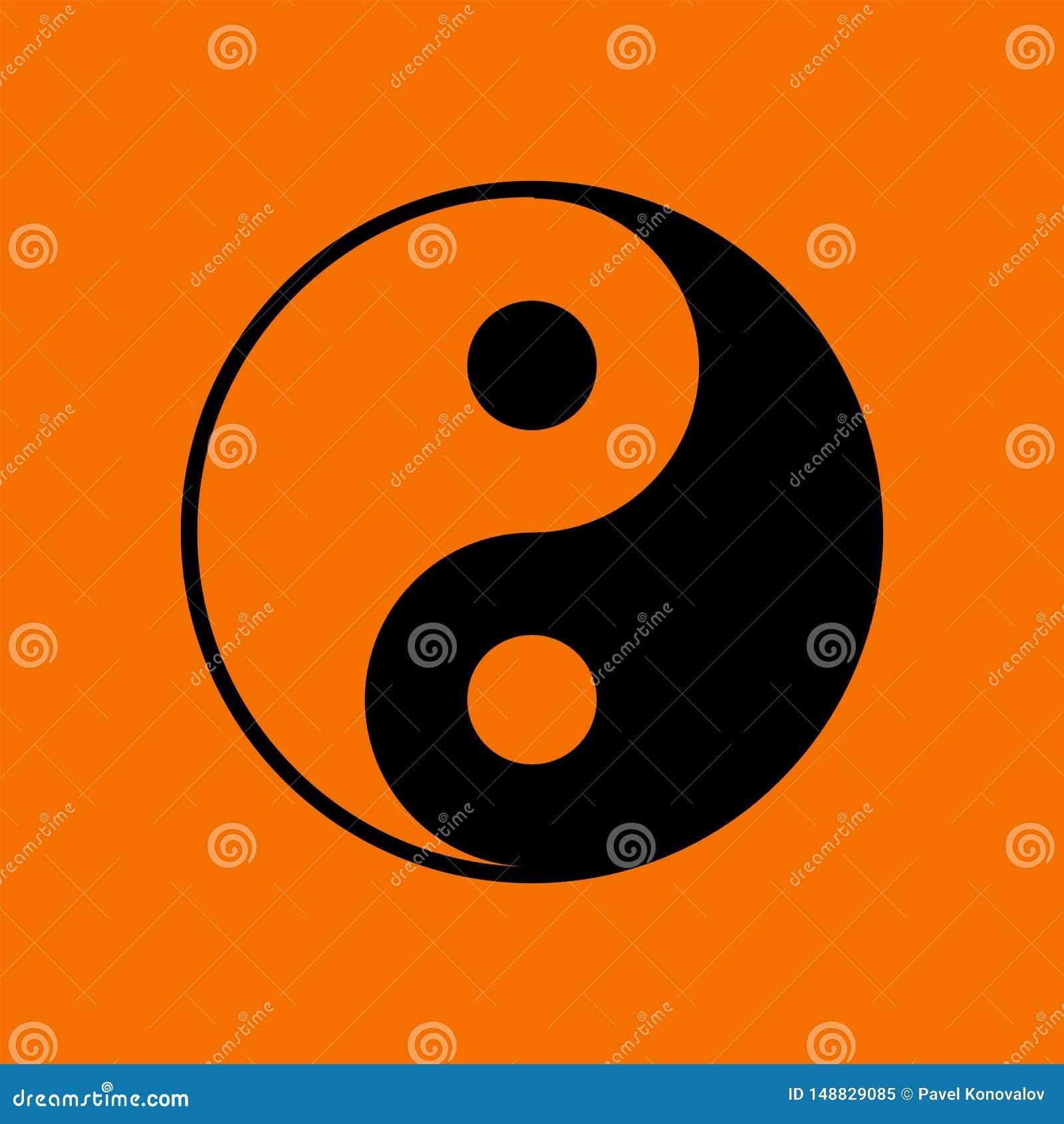 Yin και εικονίδιο Yang