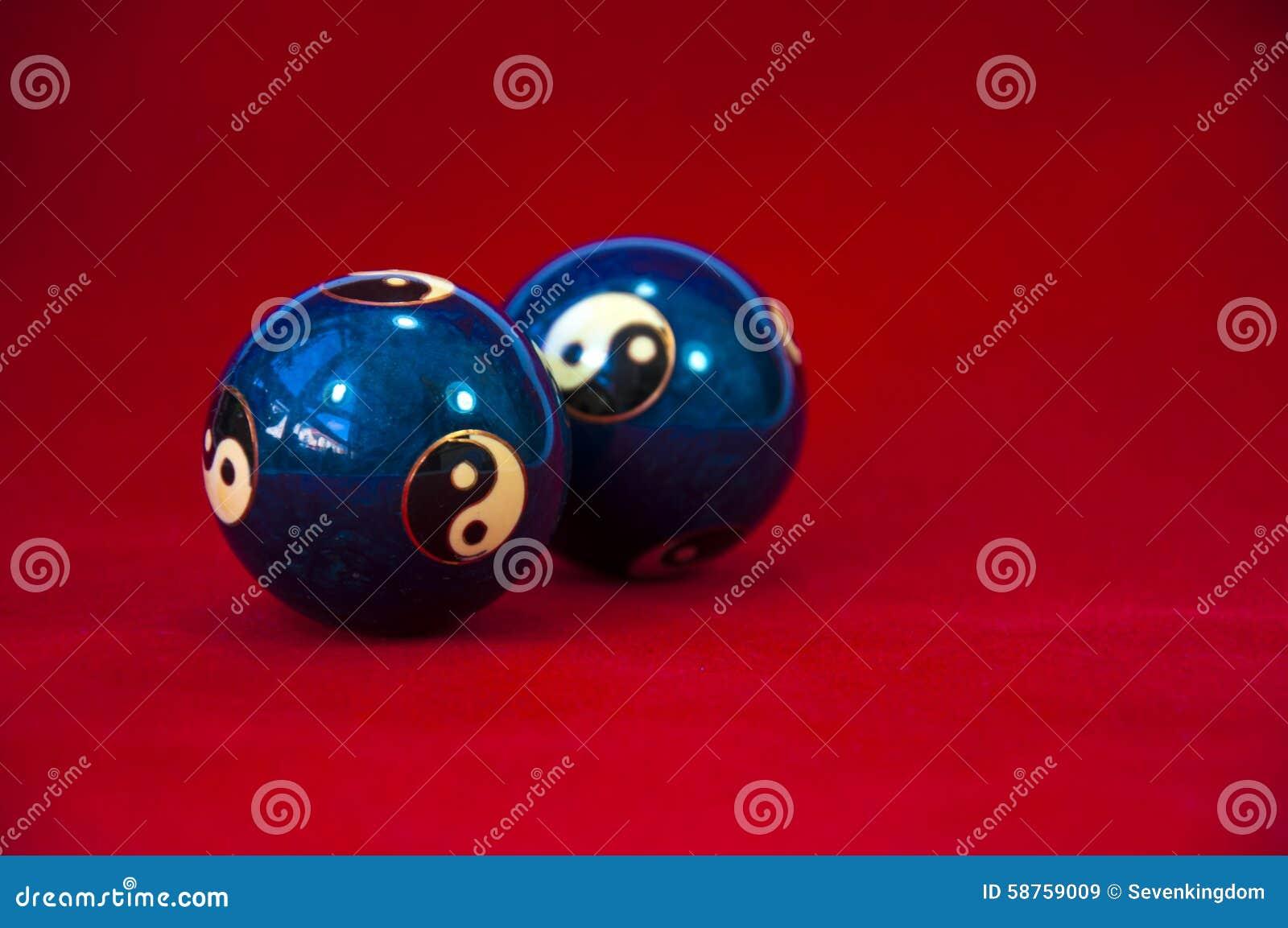 Yin e esferas de Yang Baoding