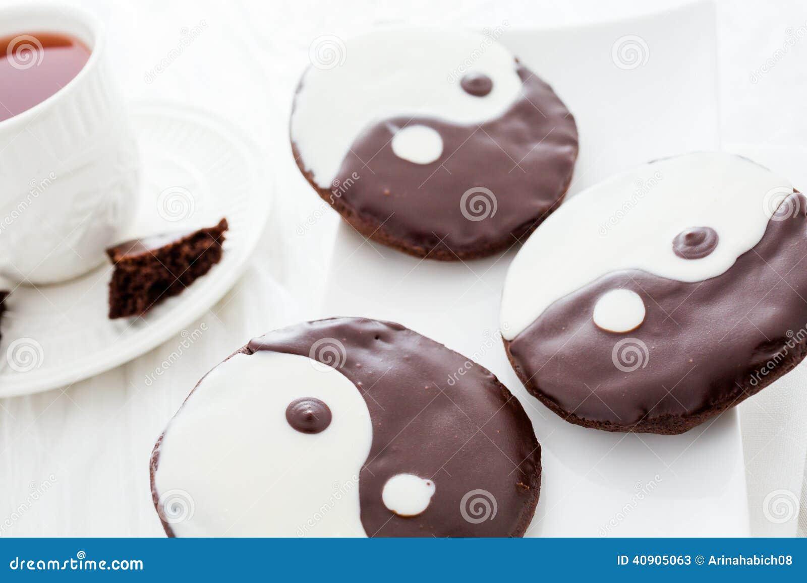 Yin i Yang ciastka