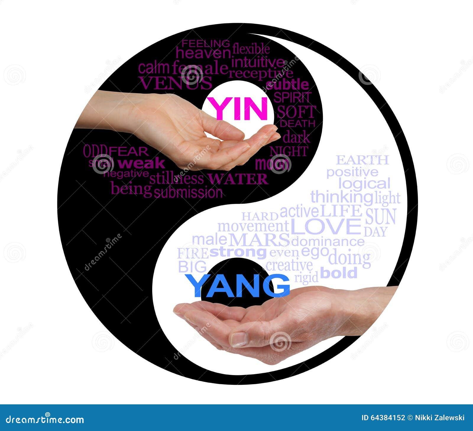 Yin och Yang Together We är starkare