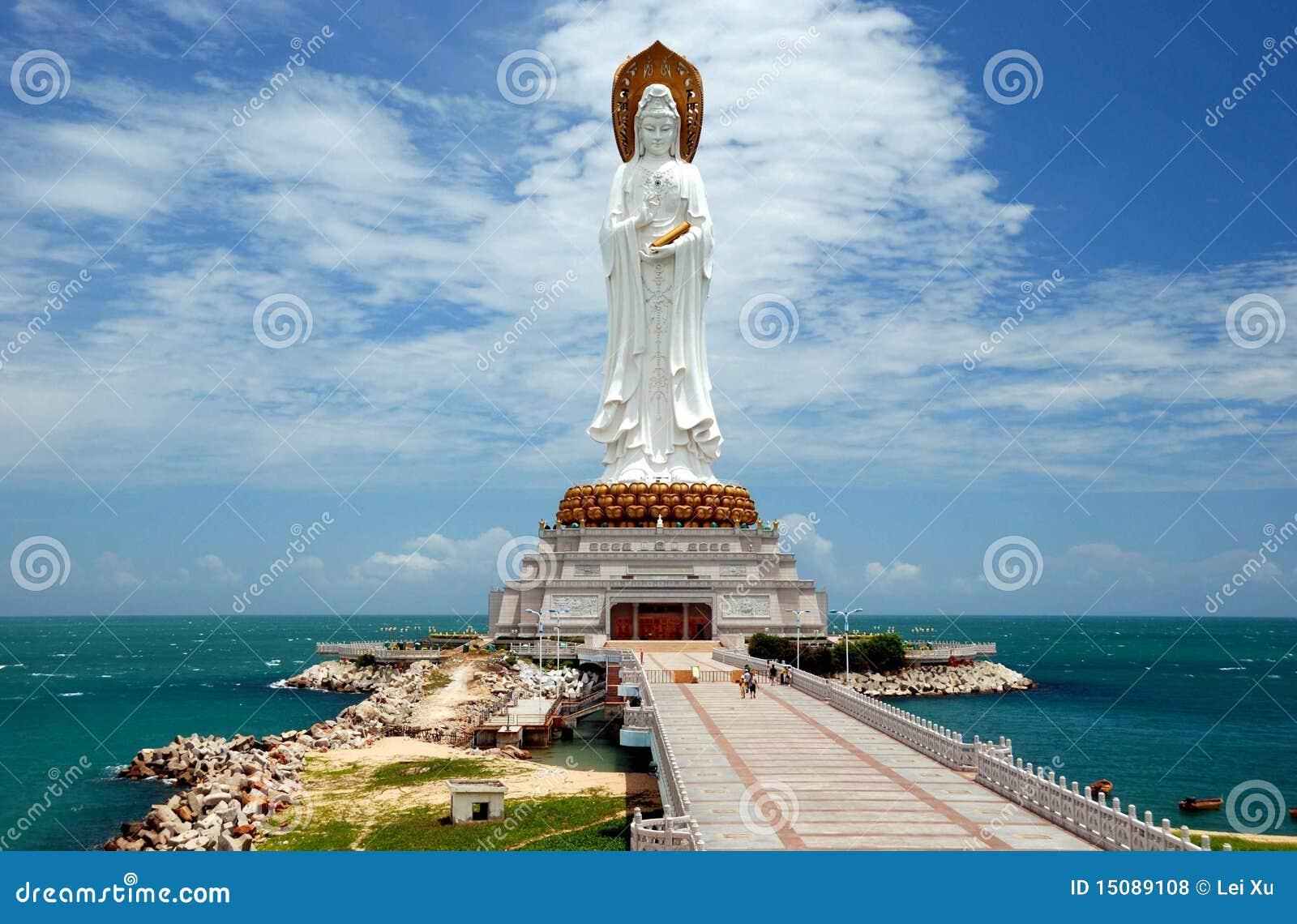 Yin sanya фарфора Будды guan