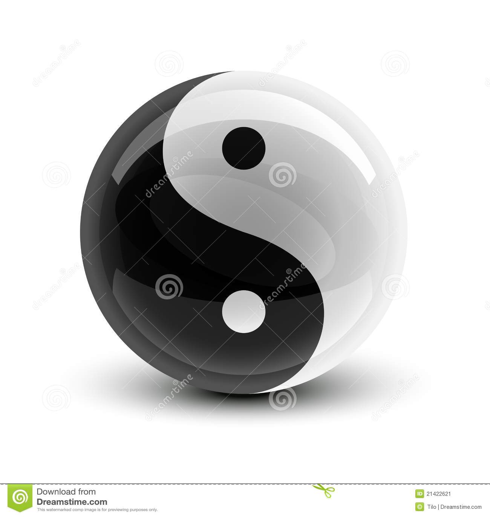 Yin Und Yang Kugeln