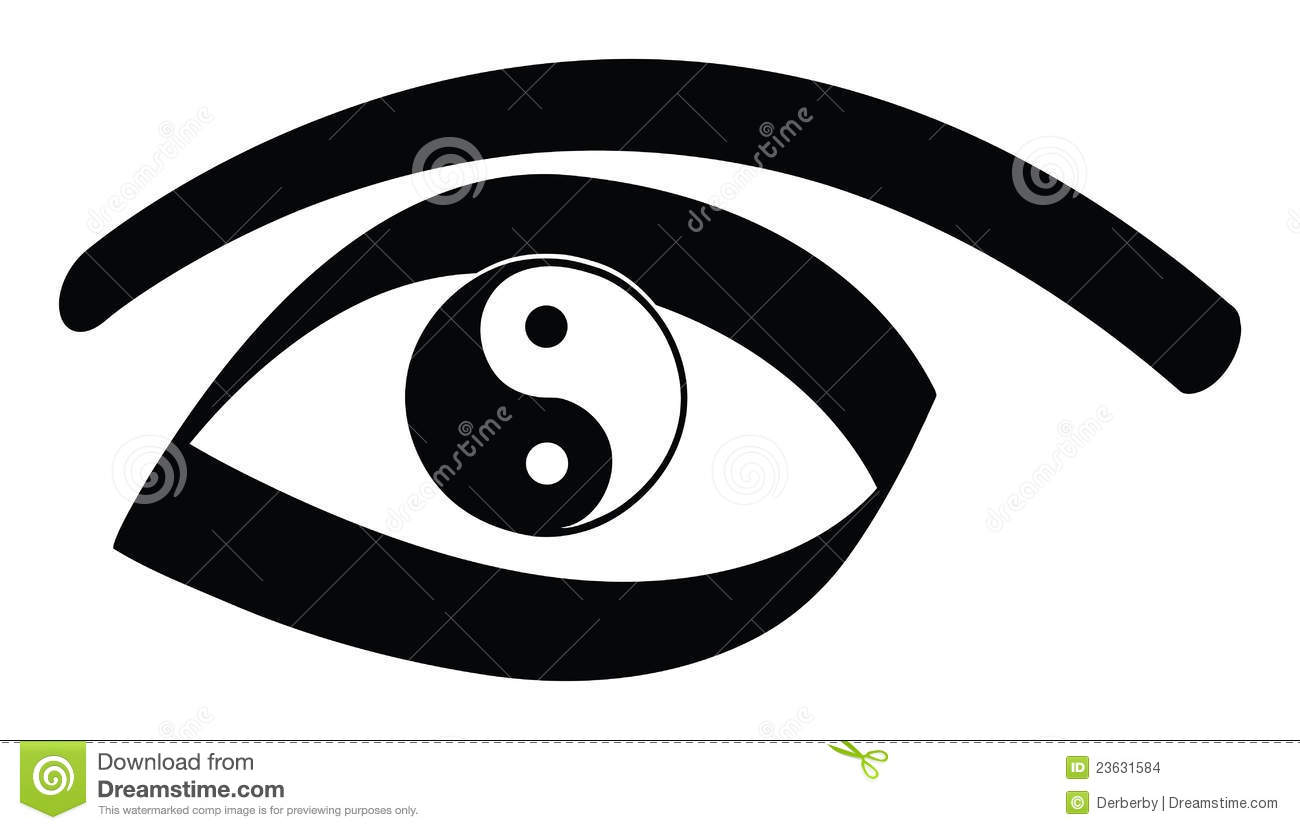 yin yang eye stock images image 23631584 Ying Yang Logos Best Design Ying Yang Logos Best Design