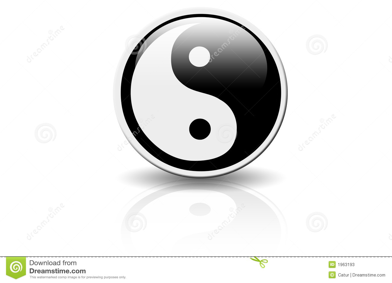 Yin Yang Ikone