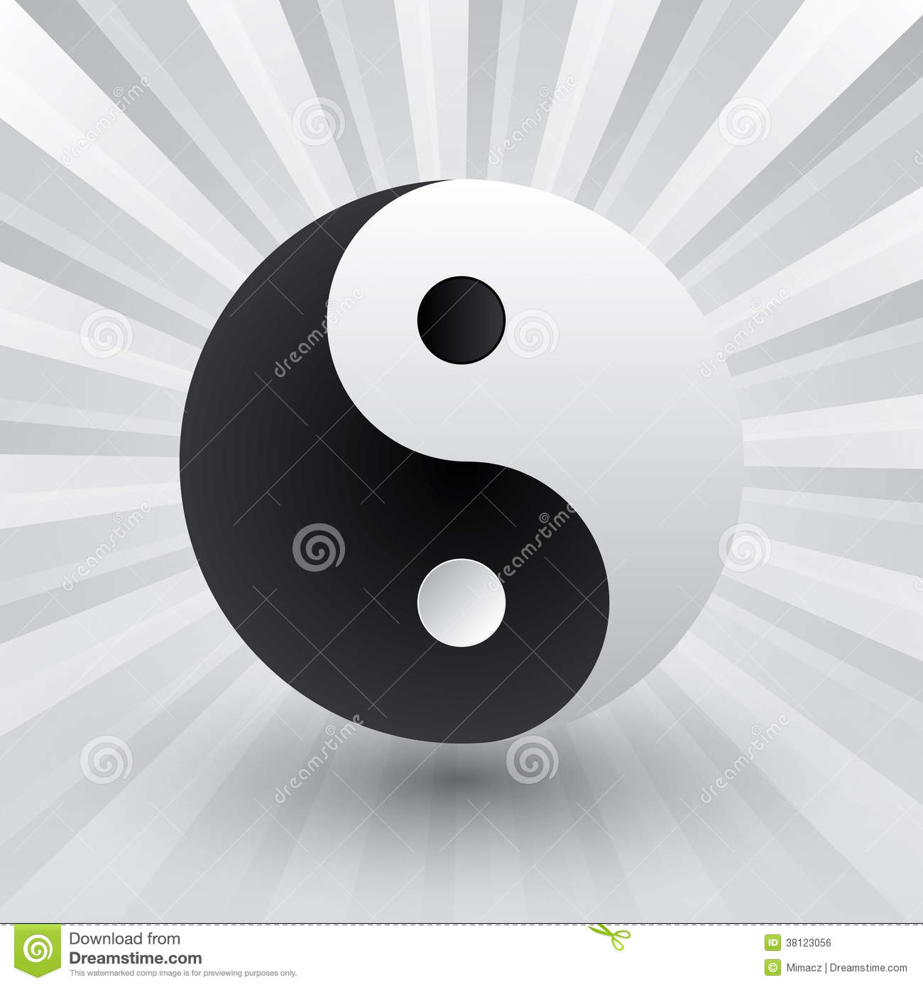 Yin yang royalty free stock image image 38123056 for Architecture yin yang
