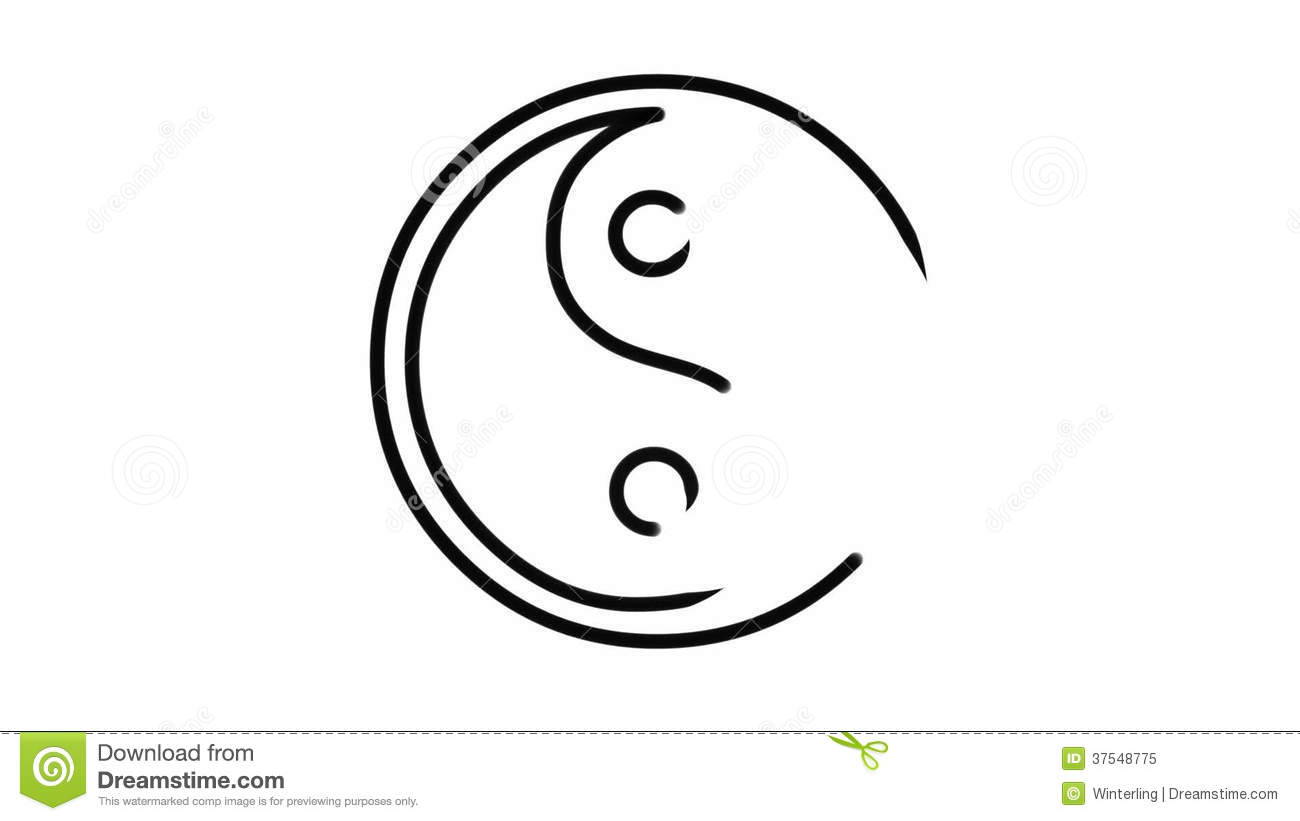 Yin Yang Symbol Stock Video Illustration Of Opposites 37548775