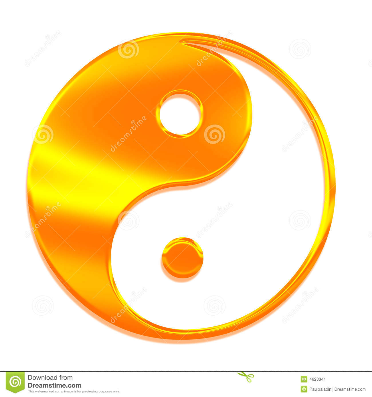 Yin-yang (Tai Chi), The Symbol Of The Great Absolu Stock Image - Image ...