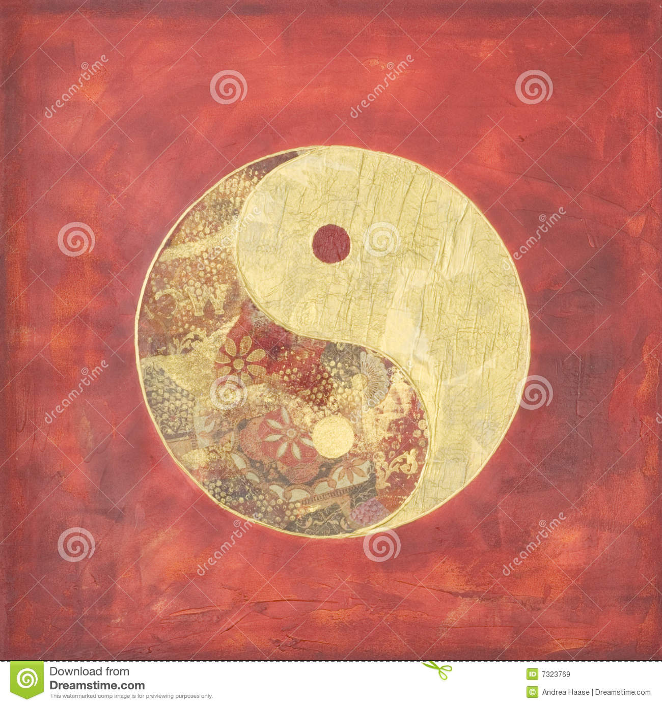 Ying e collage del yang