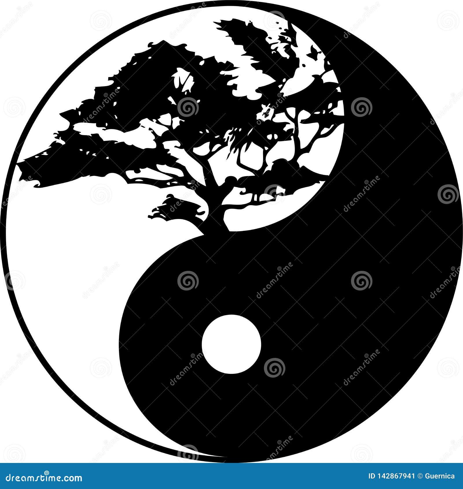 Ying Yang drzewny