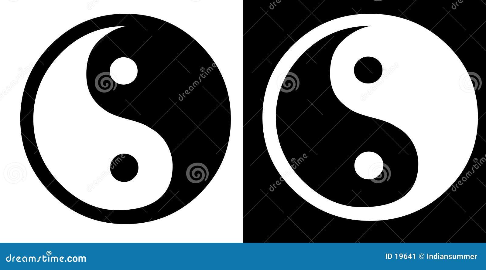 Ying-Yang-Zeichen