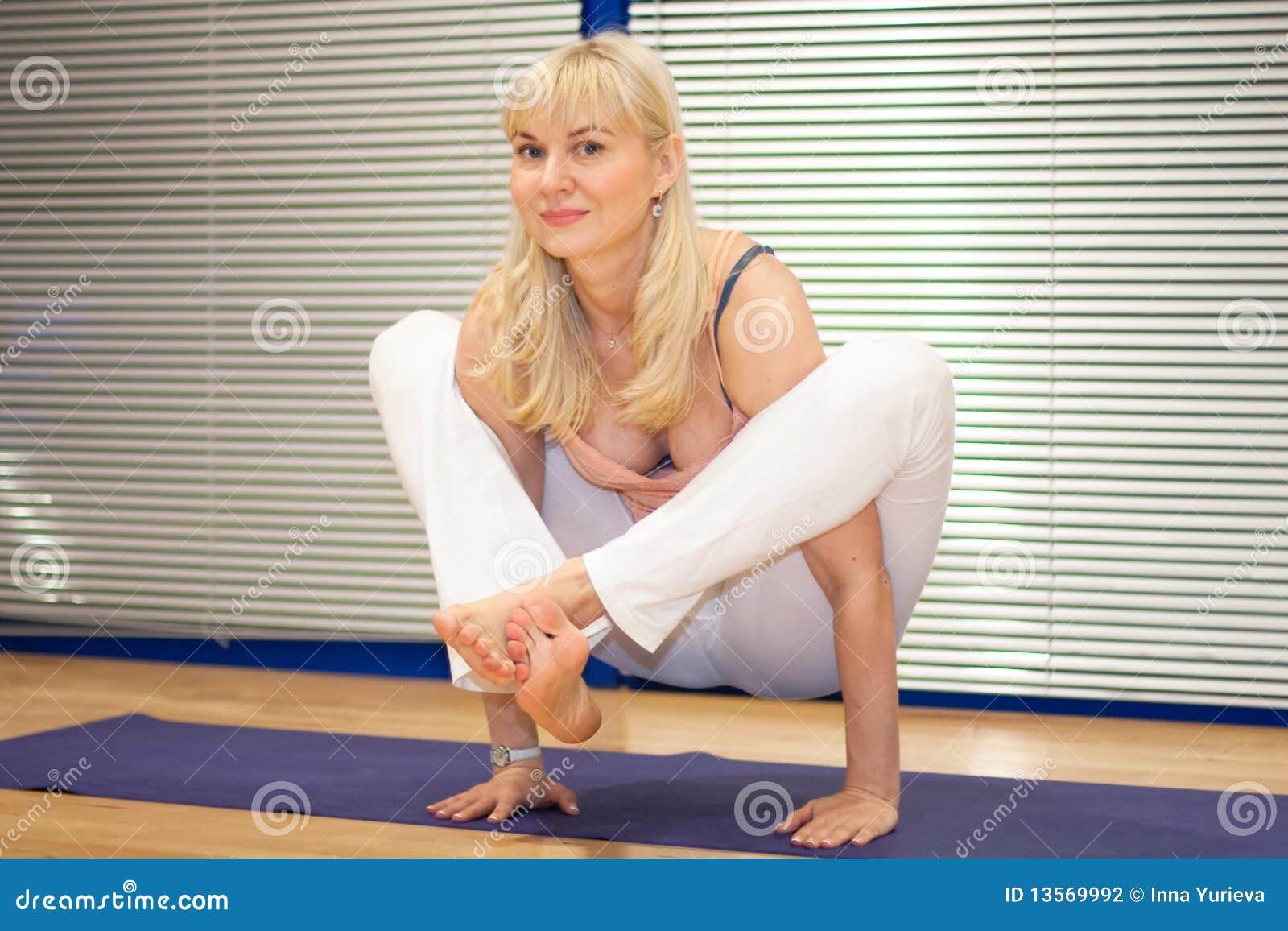 Yoga Stock Photo Image Of Yoga Nice Training Coaching