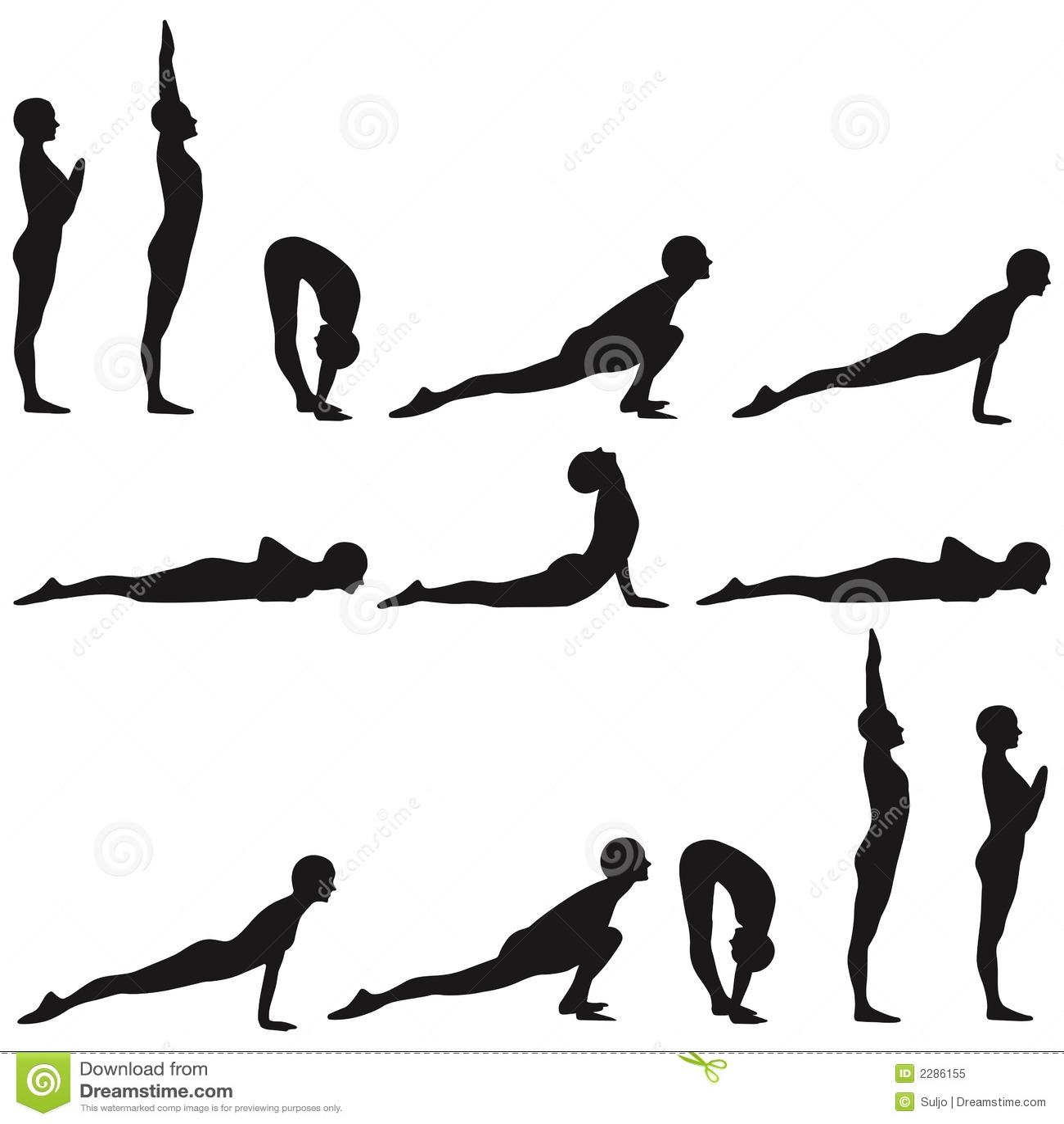 yoga illustration de vecteur illustration du sport isolement 2286155. Black Bedroom Furniture Sets. Home Design Ideas
