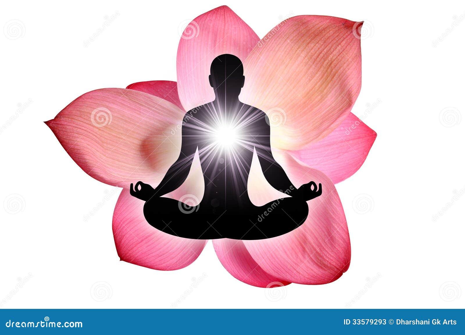 Yoga de fleur de Lotus