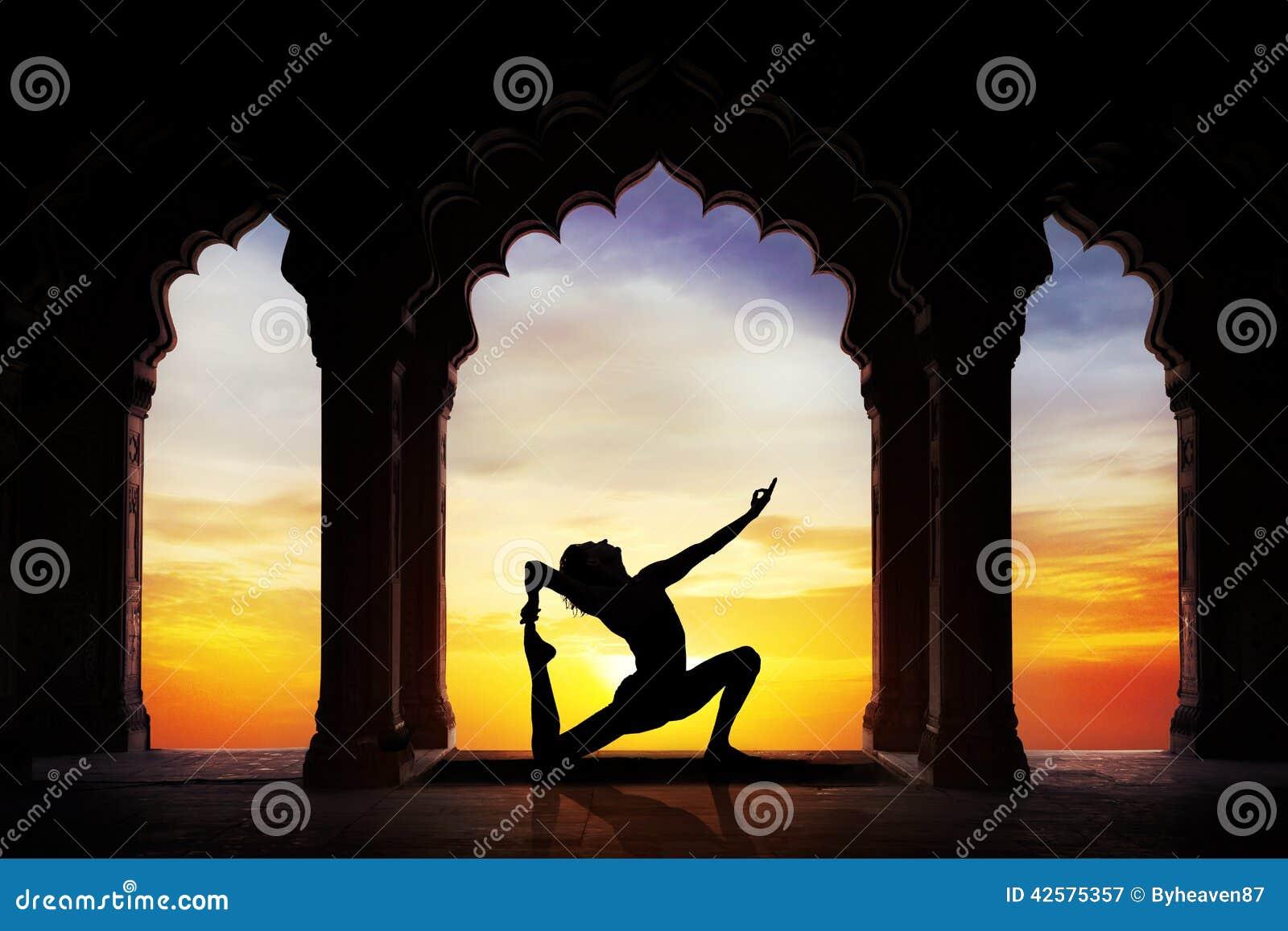 Yoga in de tempel