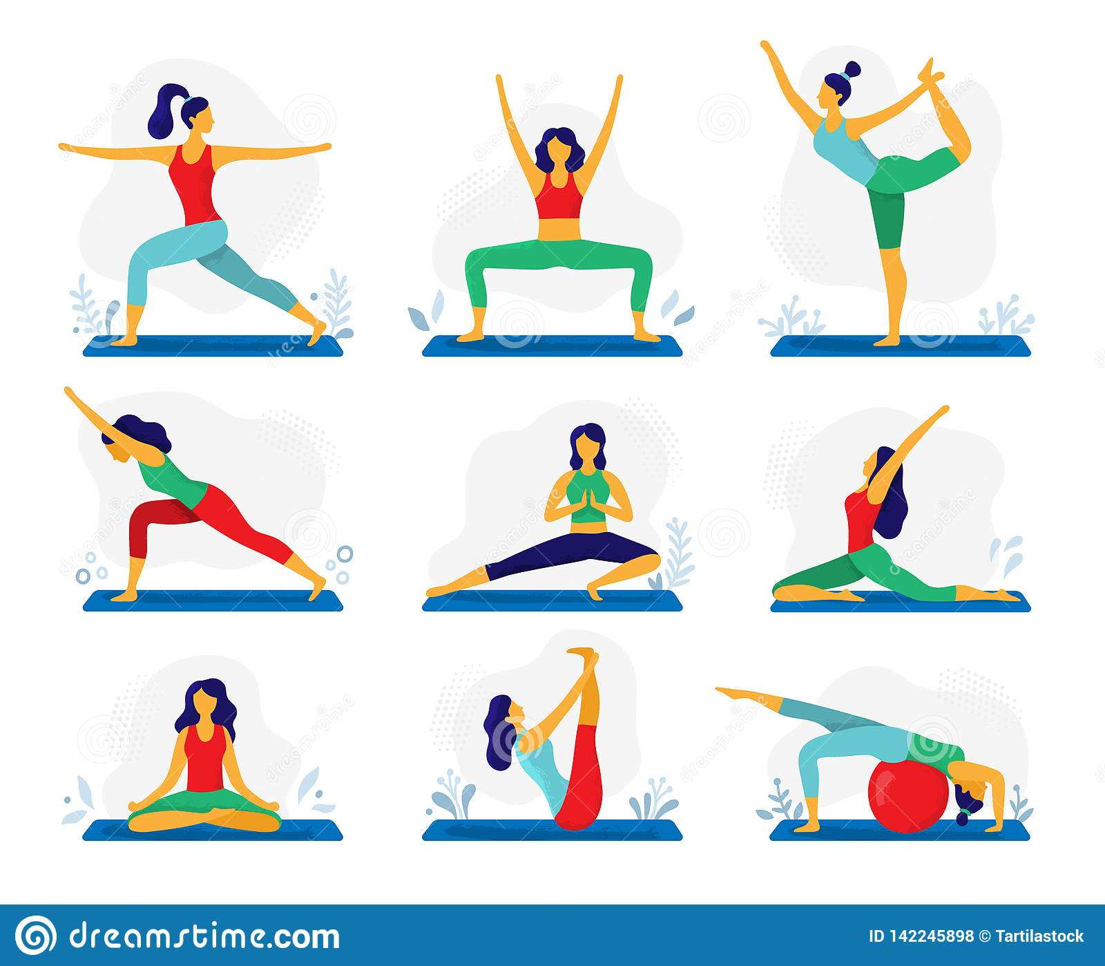 Yoga Exercises Or Meditation